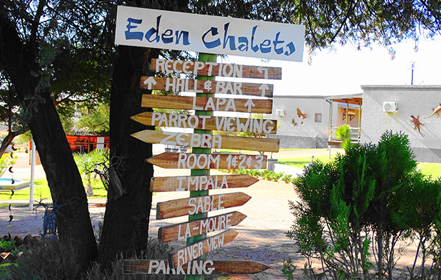 EDEN SELF CATERING CHALETS AND VENUE
