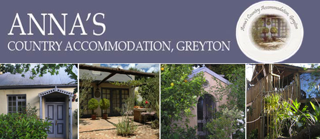 ANNA'S COUNTRY ACCOMMODATION, GREYTON